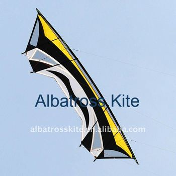 2.8m quad line kite with lines and handles