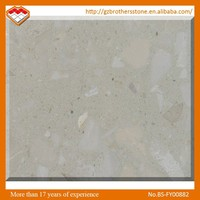 Chinese Factory Interior Bathroom Decoration Gray Artificial Wall Stone