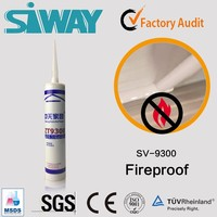 neutral curing Fireproof and mildewproofing glass neutral silicone sealant