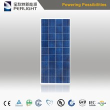 industrial solar photovoltaic panel 150wp for factory use