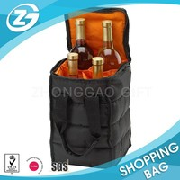 Premium 4 bottle Insulated Wine Travel Carrier