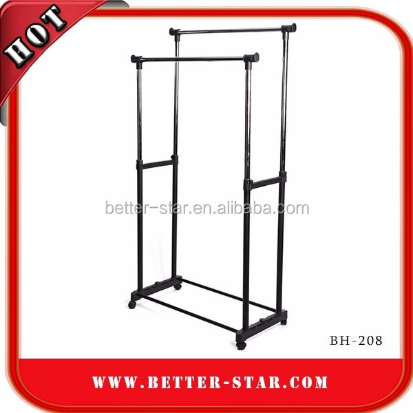 2017 Factory folding metal clothes stand