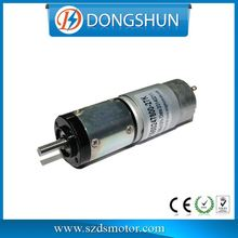 DS-28RP395 20 v 90 rpm 12v parallel shaft dc gear motor
