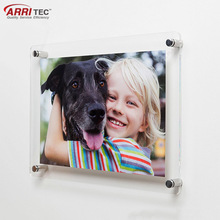 acrylic a4 wall mounted photo frame