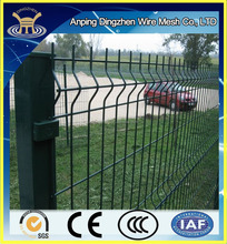 CE certificated factory triangle bending Welded Fence with best price popular in india ,uae ,turkey