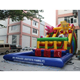 Factory price giant adult inflatable bouncer slide inflatable play center