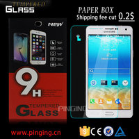 High quality 9H tempered glass screen protector film for Samsung galaxy S7