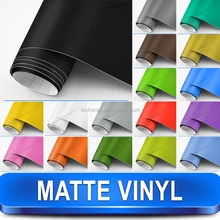 Matte Film with Paint Colors For Car Wrap of Full Body and Partial Body Car Interior & Exterior Car Sticker