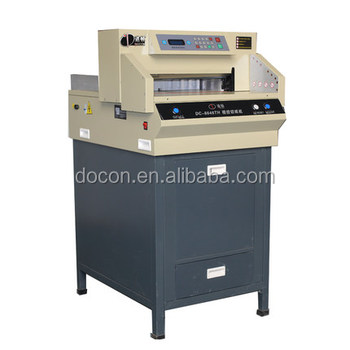 DC-8646RT electric program guillotine paper cutter