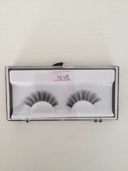 Pure hand made human hair wispy false eyelashes indonesia