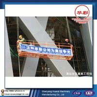 ZLP400 hanging factory supply aluminum cleaning CE different types of scaffold