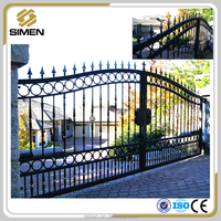 Cheap Wrought Iron Gate Design Latest