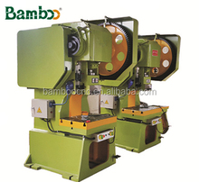 J23 series mechanical press 10 ton punch press machine , stamping machine specification