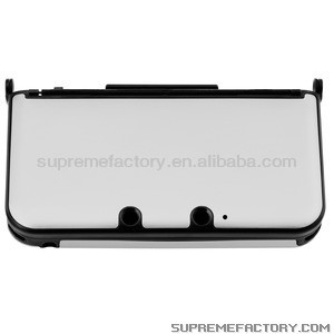 For Nintendo 3DS XL Silver Aluminum Protect Case