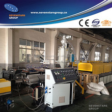 PE/PP corrugated pipe making machine/drawtube production line