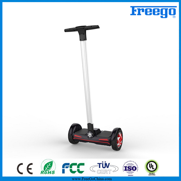 Hot Elektric Enclosed Motor Fashion Sport High Quality Electric Scooter With Handle Hoverboard 2016 LED Skateboard