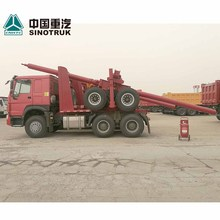 Sinotruk HOWO 6x4 10 wheel logging truck with trailer