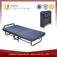 Low Profile Metal Folding Bed Frame with Mattress