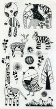Black Rub-on Paper Craft, Suitable for Gift and Scrapbook Decoration, Disney & NBCU approved factory
