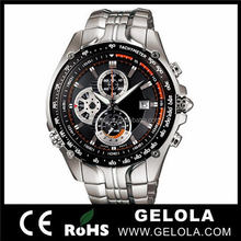 italian watch top brands vogue fashion stainless steel chronograph watch from watch china manufacturer