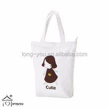 Heavy-duty organic cotton tote bags canvas shopping bag