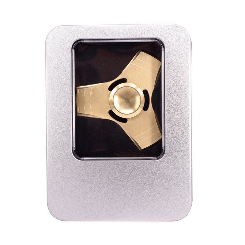 New Tri Spinner Fidgets Toy Alloy