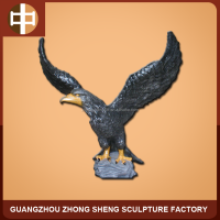 life size resin eagle sculpture