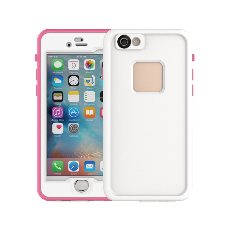 New Underwater Full Sealed Cover Snowproof Shockproof Dirtproof IP68 Certified Waterproof Case for iPhone 6 6s CY113
