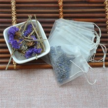 Wholesale Popular Nylon Mesh Pyramid Shaped Tea Bags