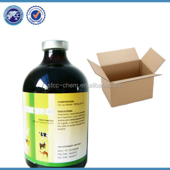 Cattle medicine Iron dextran injection