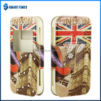 [Smart-Times] 6 Sizes Universal Case for Smartphone, Leather Universal Flip Phone Case with Stand