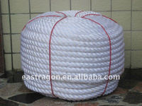 Nylon Double Braided Mooring Rope for Ship