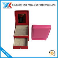Wholesale in dongguan Luxury leather jewelry box from CN with custom logo
