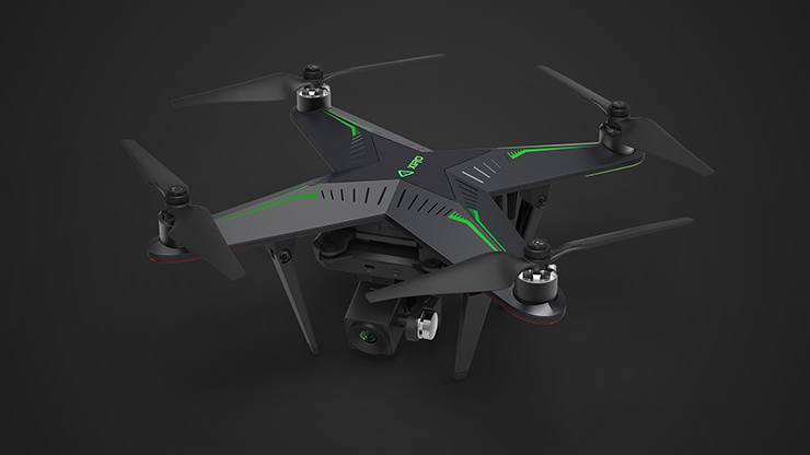 Professional Zero Camera Drone/Quadcopter with Headless <strong>Model</strong> Follow Me Auto Descend/Take Off WiFi Xiro Drone/Quadcopter