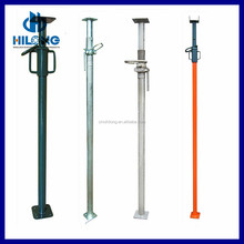 adjustable scaffold shoring prop/steel pole support for sale