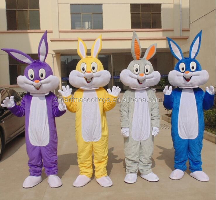 adult funny rabbit mascot costume cheap rabbit costumes