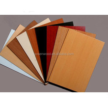 2mm 2.5mm melamine MDF board for furniture backboard