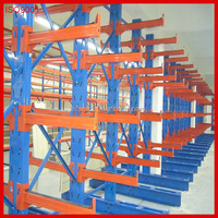 China manufacturer Double side Heavy arm cantilever steel pipe storage rack with assemble freely
