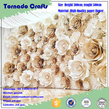 2017 Wedding Wall Hanging Artificial Paper Flower Home Decorations