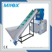 Powerful plastic film bottle scrap cutting machine