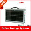 Top selling 20w portable solar generating mini solar power system for home