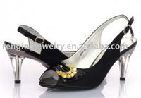 2010 the most fashionable shoes buckles/shoes flowers