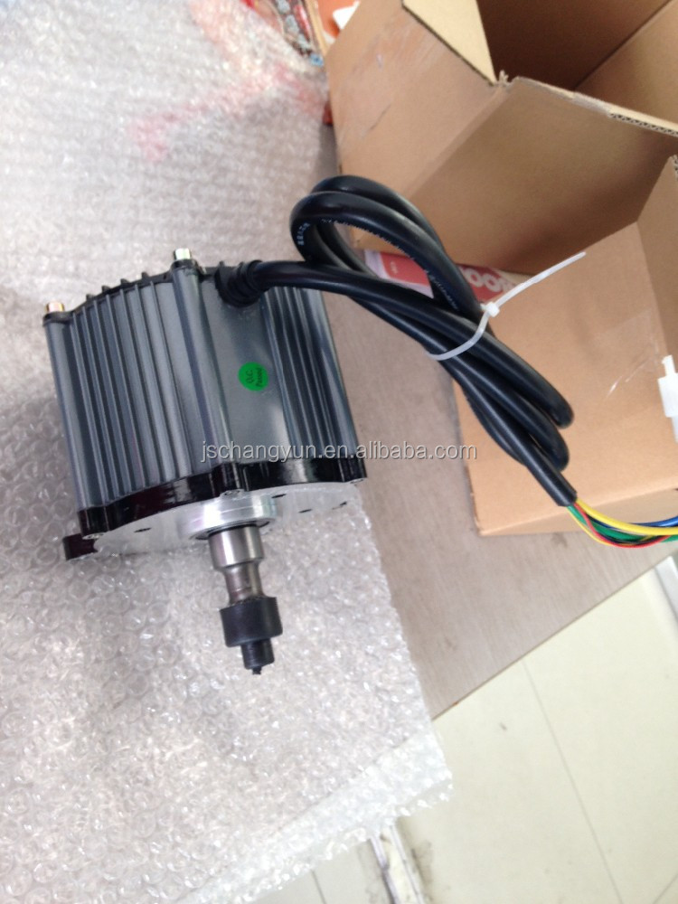 Electric rickshaw brushless dc electric motor 48v 1500w