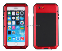 Waterproof Shockproof Aluminum Glass Metal Case Cover For iPhone 6 Plus 5S 5C 5 Listed for charity