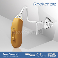 Digital mini hearing aid in ear listening devices