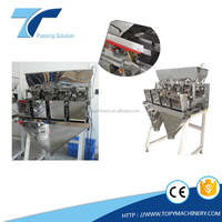 4 Head vibration feeder, linear weigher of electromagnetic vibrating feeder control