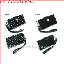 2012 hot sale Ladies Mobile phone leather pouch