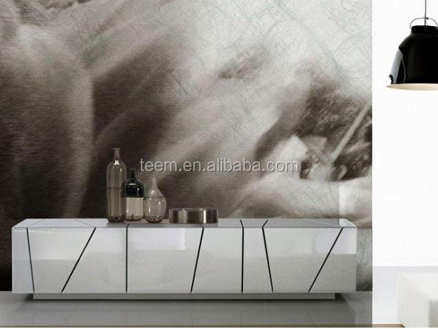 italian design modern 6 drawers walnut wood furniture cosmetic storage cabinet