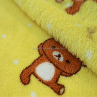 coral fleece fabric soft warm baby clothes