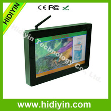 "13.3"" wall-mounted wifi digital signage software for <strong>advertising</strong>"